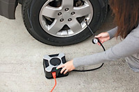 Slime Wall Plug-in 120-volt Tire Inflator Multipurpose For Car Rv Home
