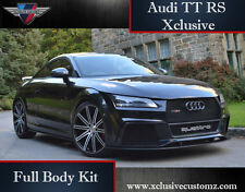 Audi TT RS Xclusive Design Full Body Kit for Audi TT MK2 8J to MK3 Coupe