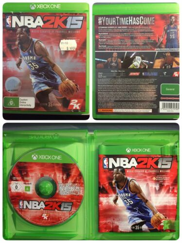 1 of 1 - NBA 2K15 Basketball (VERY GOOD + BOOK) Microsoft Xbox One Game Pal NBA2k15