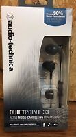 Audio-technica Quietpoint 33 Noise Cancelling Headphones Ath-anc33is $35.35