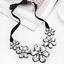 Fashion-Elegant-Women-Rhinestone-Crystal-Choker-Bib-Statement-Pendant-Necklace thumbnail 24