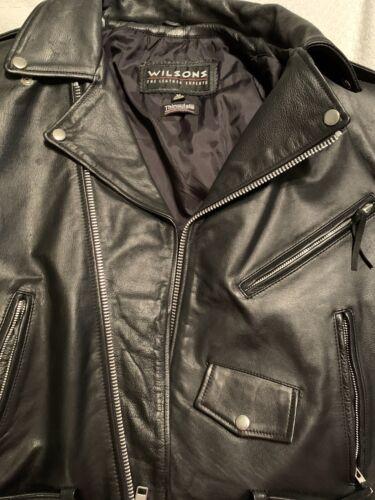 wilsons leather motorcycle jacket Medium