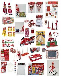ELF-accessori-sostegni-messo-sullo-scaffale-idee-KIT-GIOCHI-GIOCATTOLO-Decorazione-di-Natale