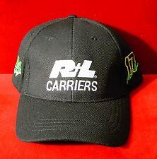 Vintage Black R+L Carriers Matt Kenseth # 17 NASCAR Racing Hat adjustable cap