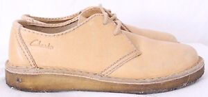 Clarks-Lace-Up-Tan-Desert-Mali-Low-Casual-Oxford-Chukka-Boots-Men-039-s-US-9