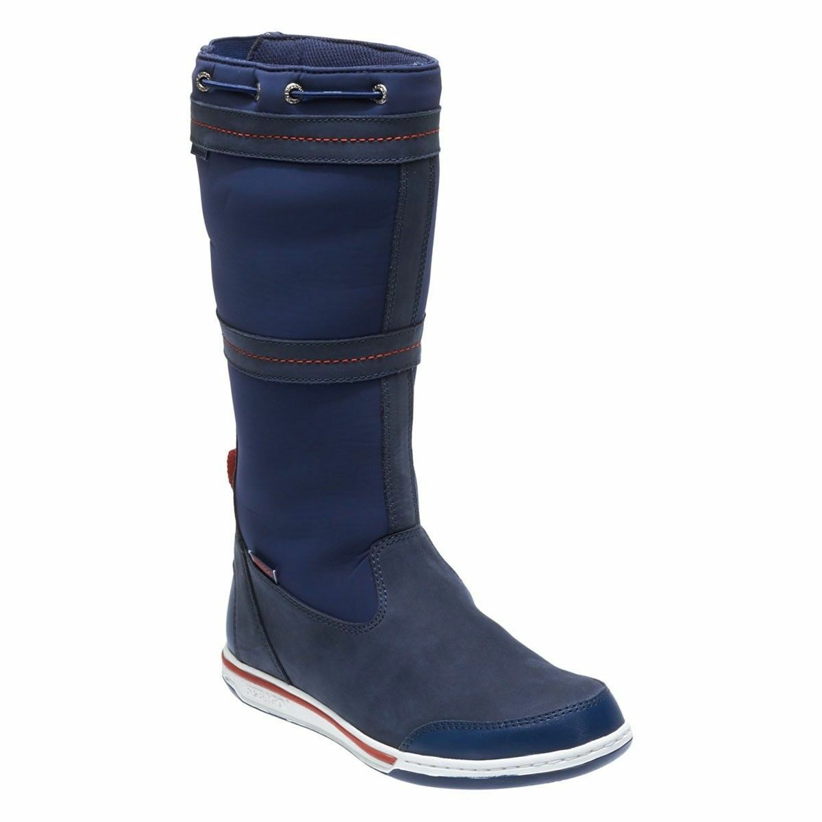 Mens Sebago Triton Waterproof Sailing Yacht Boating Pull On Stiefel Größes 7 to 11
