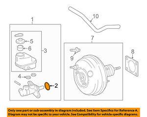 s l300 toyota oem brake master cylinder o ring seal 90015ah002 ebay