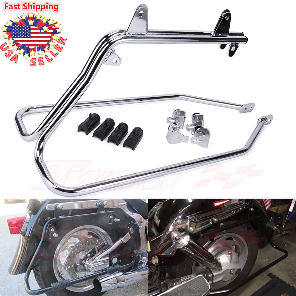Saddlebag Conversion Brackets Mounts for Harley Davidson Softail w// Hardware