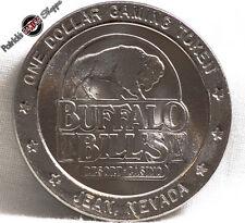 $1 SLOT TOKEN COIN BUFFALO BILL'S HOTEL CASINO 1994 GDC MINT JEAN PRIMM NEVADA