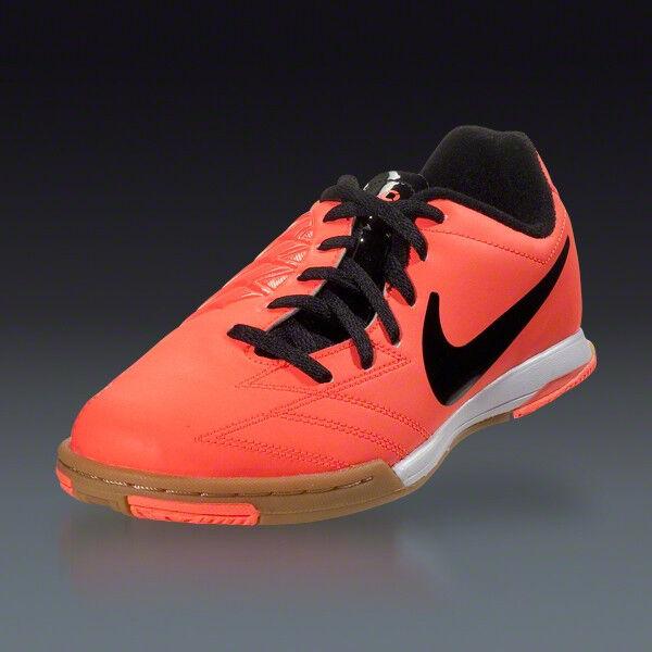 NEW Nike TOTAL 90 SHOOT IV IC INDOOR SOCCER SOCCER SOCCER Football SHOES MANGO BLACK US 7M 6dcdd0