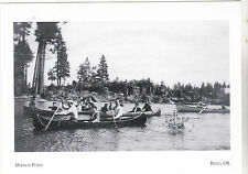 """*Postcard-""""The Mirror Pond"""" ...enjoyed by Canoeists-  *Bend, Oregon (#105)"""