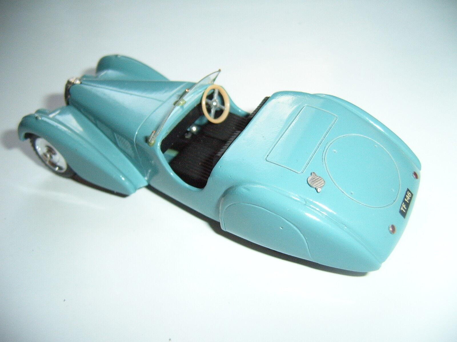 Bugatti Type 57 Roadster, à à à la main handmade H. G. Fischer mmmm ex SOLIDO 1:43 | Grand Assortiment  f447e3