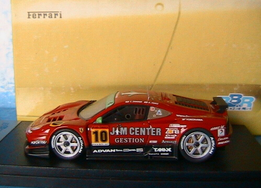 FERRARI 360 N-GT  10 JTTC 2004 TANAKA YOKO BBR Bg274 1 43 TEAM JIM GAINER
