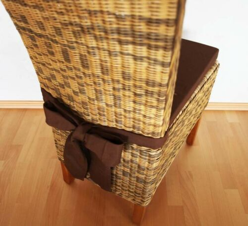 Schleifenkissen Stuhlkissen mit Schleife Panama