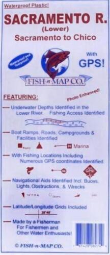 Fish-N-Map Sacramento River Lower!