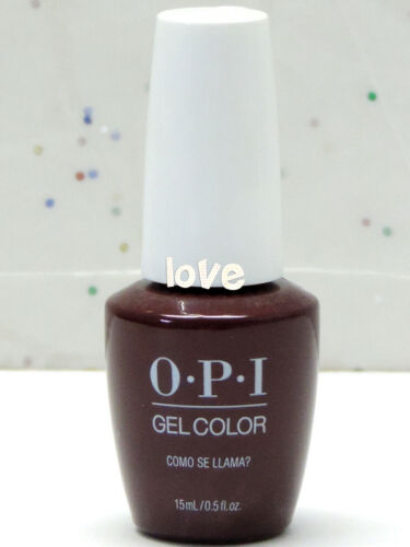 OPI GelColor New Gel Nail Polish GC P40 Como Se Llama?