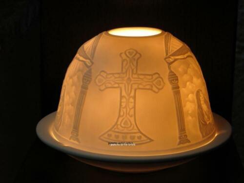 Jesus am Kreuz Starlight Windlicht Nr 65