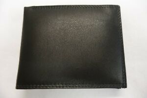 High-Quality-Luxury-Mens-Soft-Leather-Wallet-Large-Coin-Pocket-Black-Top-Brand