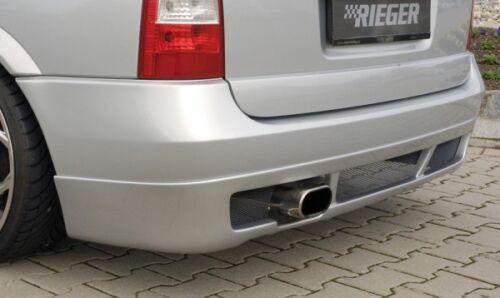 Rieger Heckansatz Noir Mat pour Opel Astra G Caravane