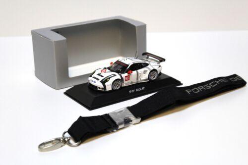 Keychain NEW bei PREMIUM-MODELCARS 1:43 Minimax Spark Porsche 911 991 RSR 2015