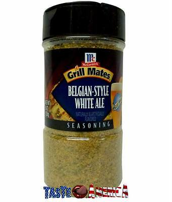 McCormick Grill Mates Belgium-Style White Ale Seasoning 226g BBQ Barbecue