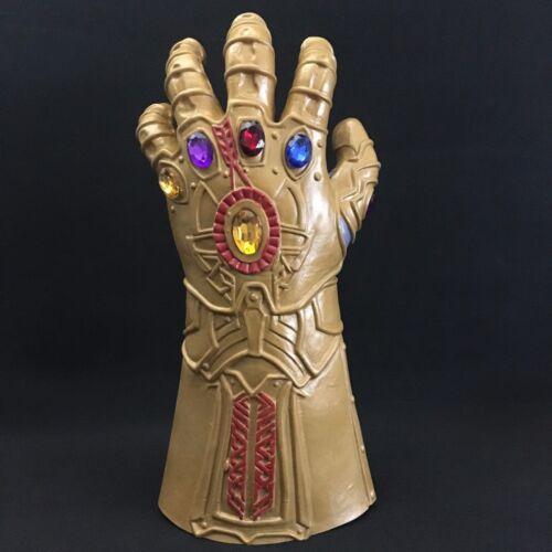 2018 Thanos Infinity Gauntlet Glove Mask Cosplay Infinity War The Avengers Prop