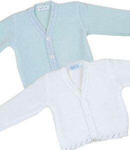 Babyprem Babykleidung StrickJ/äckchen Pullover Zweireiher Mit Kapuze M/ädchen Jungen 0-18 Monate