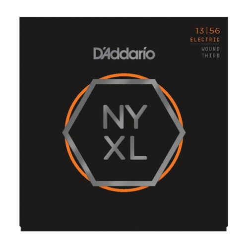 D/'Addario NYXL Electric Guitar Strings 13-56  with wound third string