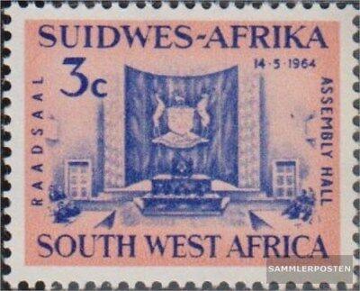 2019 Neuer Stil Namibia - Südwestafrika 322 (kompl.ausg.) Postfrisch 1964 Landratgebäude Gute QualitäT