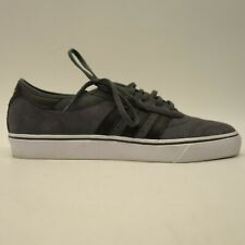 new concept cdaf7 1c846 Adidas Mens US 10.5 Adi-Ease Premiere Gray Suede Low Top Skate Shoes New