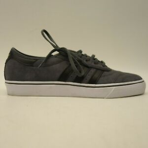 Skate Us 10 5 Premiere Gray Low Top Ease Suede Shoes Adidas Mens Adi VpSUzM