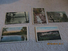 4 PICS OF NY AREAS VERY OLD CARDS  AND L VINTAGE MAINE CARD