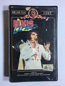 Rare-ELVIS-PRESLEY-ON-TOUR-Concert-1980s-Ex-Rental-BETA-not-VHS-Video-Cassette