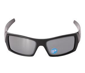 040e706321175 Oakley Gascan 12-856-61 Matte Black Frame Black Iridium Polarized ...