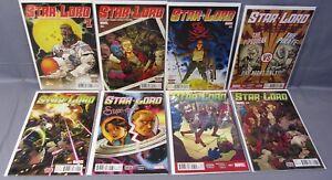 STAR-LORD-1-2-3-4-5-6-7-8-Full-Run-1-8-Unread-NM-set-Marvel-Comics-2016