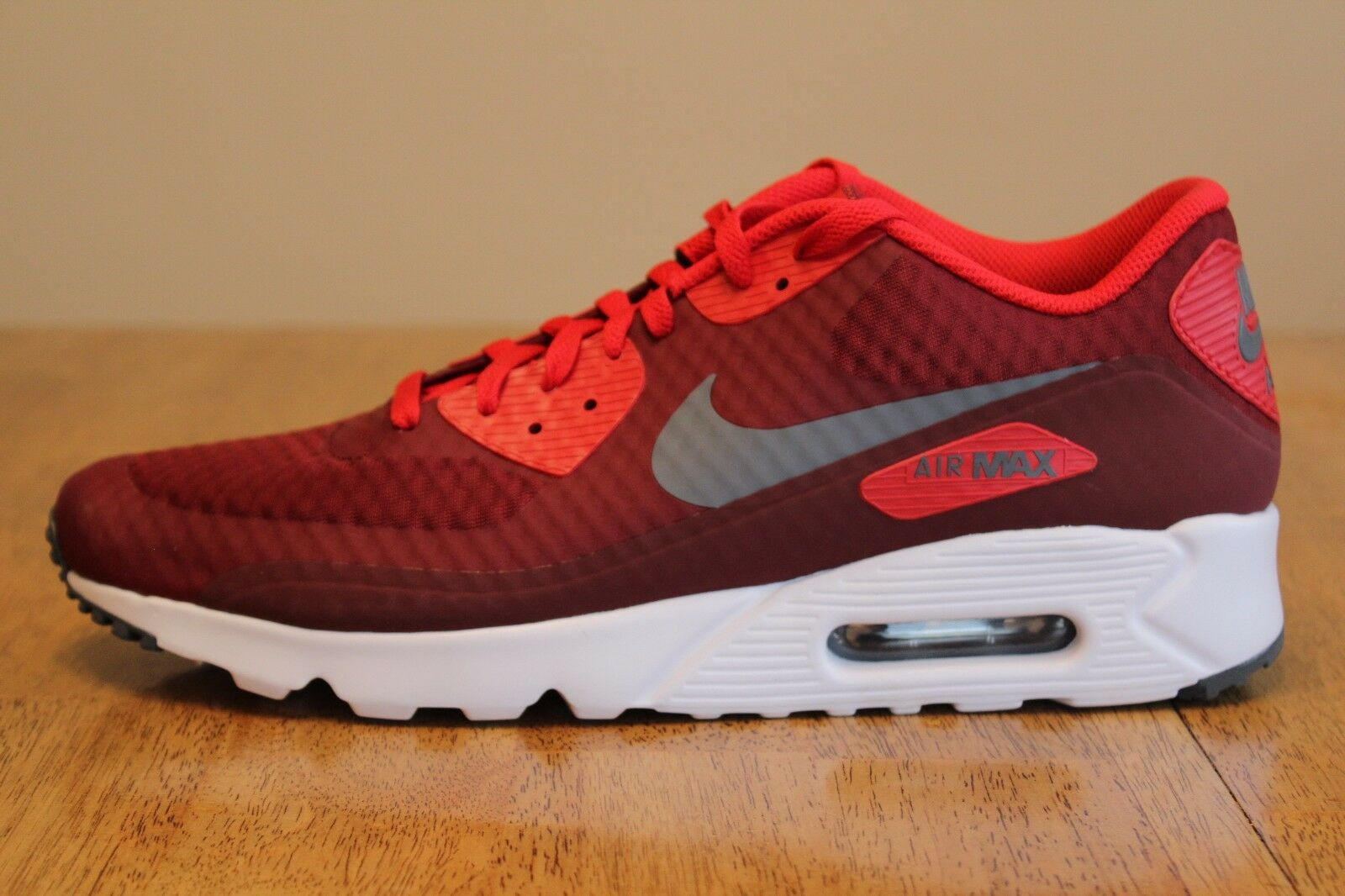 30 Nike NEW Nike 30 Men's Air Max 90 Ultra Essential Shoes 819474 602 Red White Size 13 204c2c
