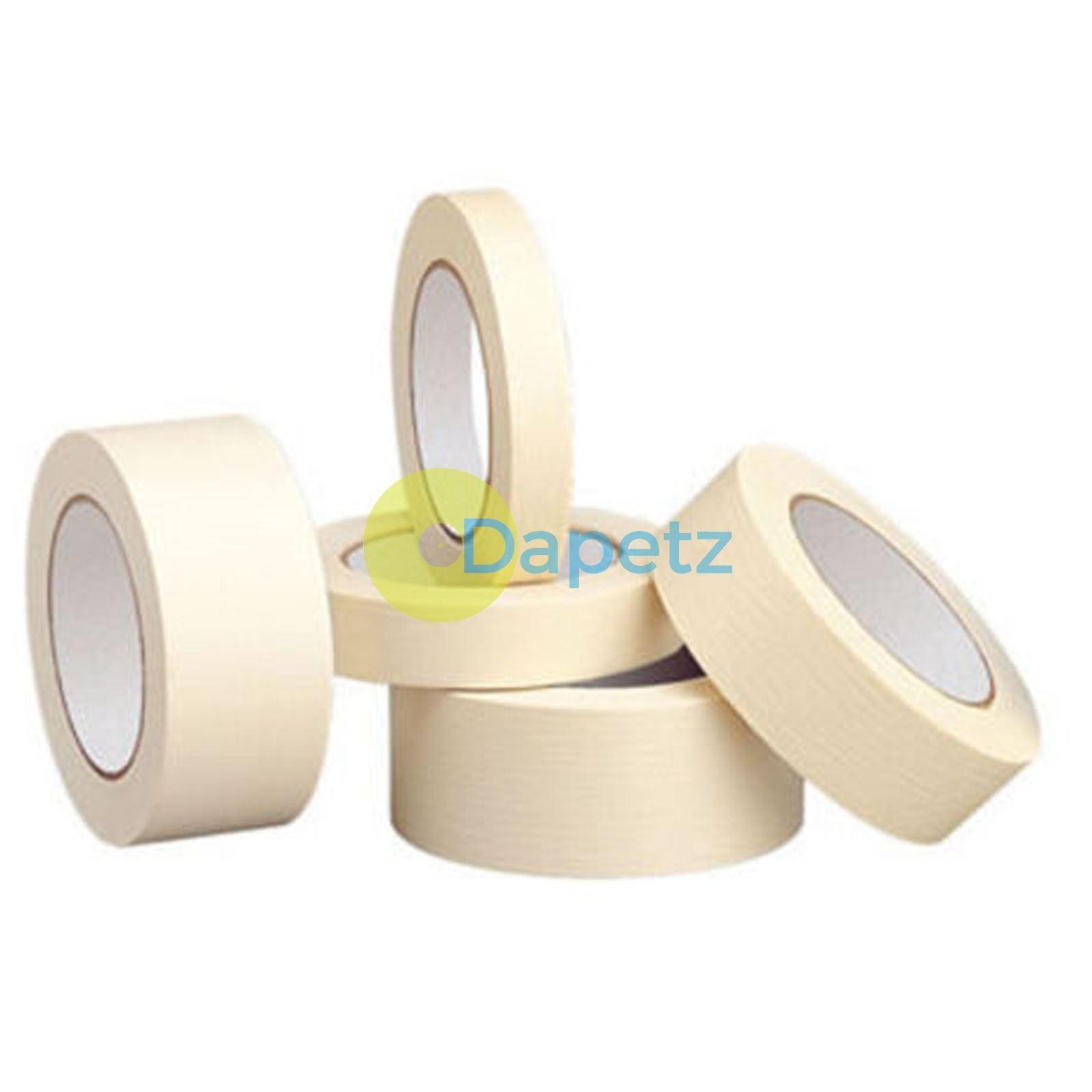 Masking Tape Indoor Outdoor DIY Painting Decorating Easy Tear 24-75mm x 50m
