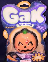 Nickelodeon Gak In The Dark Pumpkin Glows Orange Halloween Fun 4 Kids Sealed