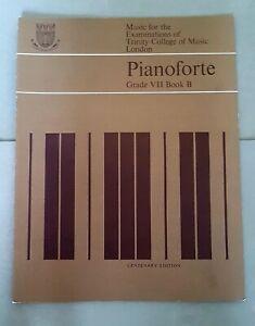 Brillant Musique Pour Les Examens De Trinity College Of Music-piano Grade 7 Livre B-afficher Le Titre D'origine Diversifié Dans L'Emballage