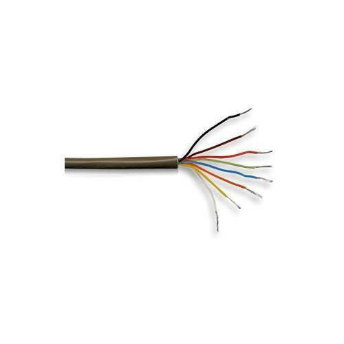 PC609 Alarm Cable Brown 8 Core Burglar Security Per 5 metres