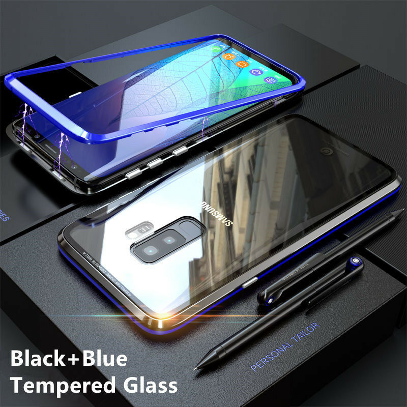 f r samsung galaxy s9 s9 plus magnetic adsorption metal. Black Bedroom Furniture Sets. Home Design Ideas