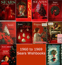 Sears Wishbook Catalogs Disc (1960,1961,1962,1963,1964,1965,1966,1967,1968,1969)