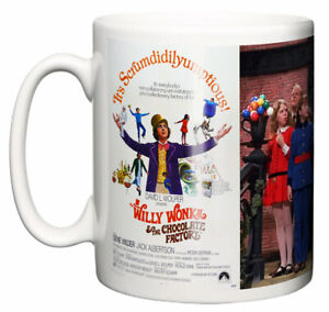 Movie Musical Mug, Willy Wonka & The Chocolate Factory 1971 Poster & Scene Gift