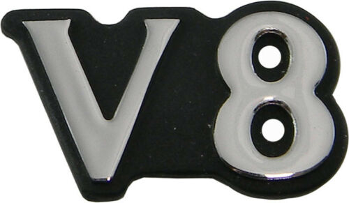 Jaguar XJ8 XJR B pillar /'V8/'  Badge Emblem 1998-2003 HND6092BA OEM