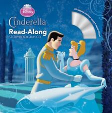 Read-Along Storybook and CD: Cinderella by Disney Book Group Staff (2012, Paperback)
