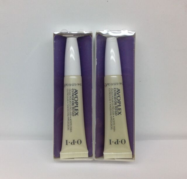 OPI - AVOPLEX CUTICLE OIL TO GO w/pen brush .25oz - lot of 2