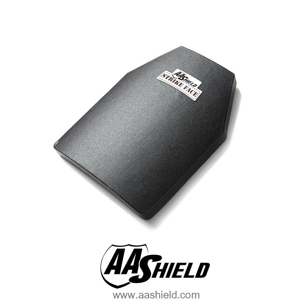AA Shield Ballistic Light Body Armor Insert Hard Plate Lvl III 3 10x12 Cut