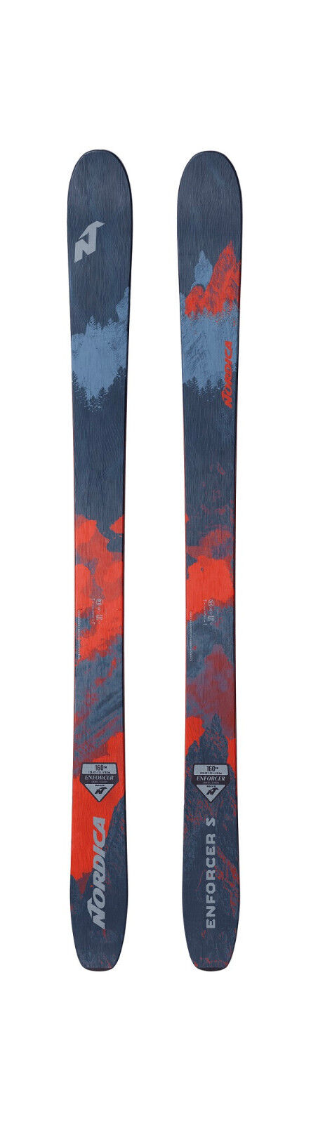 ski Freeride Junior Femme NORDICA ENFORCER S S S saison seulement ski 2018/2019 4bebf8