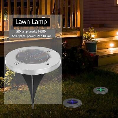 3 Solar LED Spot-Light Gartenlampen Solarstrahler Pflanzenstrahler
