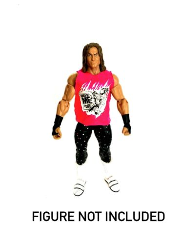 """WWE Dolph Ziggler /'debería haber sido yo /""""Personalizada Camisa para Mattel Figuras."""